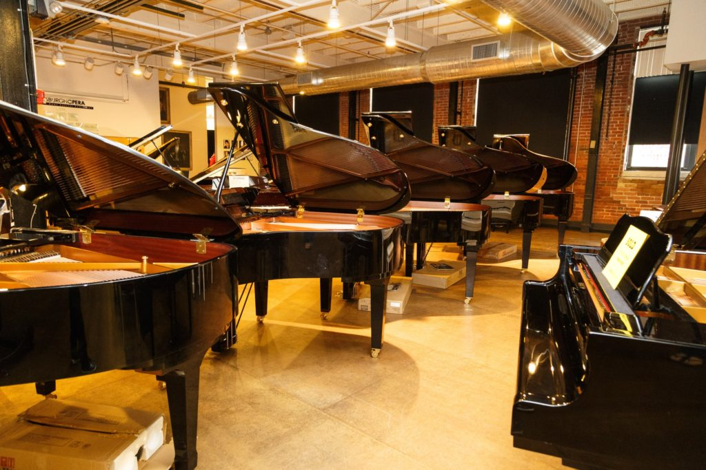 Wide selection of Pianos at Pittsburgh Opera